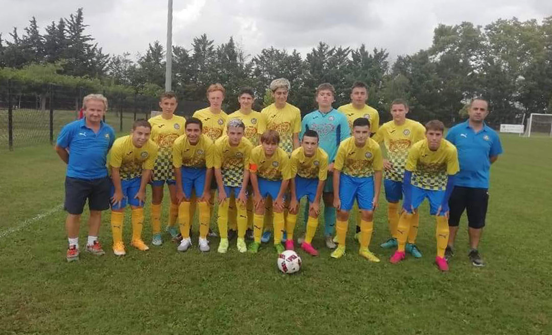 équipe des U17 as valerguoise